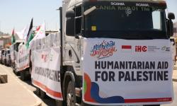 ACT Bagikan 50 Ton Daging Kurban pada Warga Gaza