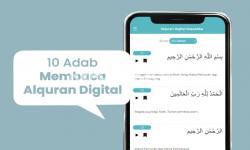 10 Adab Membaca Alquran Digital