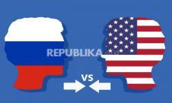 Infografis Adu Sanksi AS Versus Rusia
