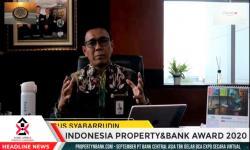 Bank Kalsel Raih Penghargaan Indonesia Property Bank Award