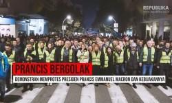 'Rompi Kuning' Menentang Kebijakan Macron