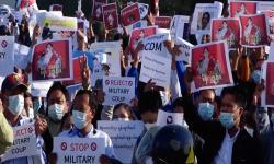 Ribuan Warga Myanmar Eksodus ke Negara Lain