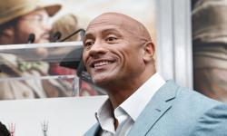 Dwayne Johnson Kirim Pesan Semangat pada Ashley Cain