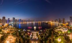 Menikmati Keindahan Malam Ramadhan di Sharjah