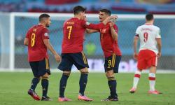 Para pemain Spanyol (ilustrasi)