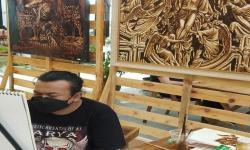 Kopi Indonesia Juga Bisa 'Dinikmati' <em>Via</em> Lukisan