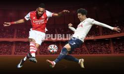Infografis Arsenal vs Tottenham Hotspur: Jaga Tren Positif
