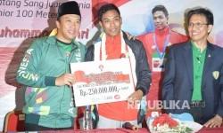 Juara Dunia, Lalu M Zohri: Saya Percaya Tuhan Membantu Saya