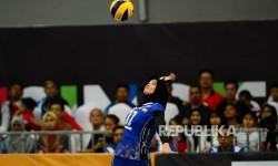 Atlet bola voli Indonesia dari Jawa Barat, Wilda Siti Nurfadhilah Sugandi.