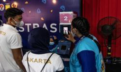 Atlet dayung DKI Jakarta melakukan validasi ID Card PON XX Papua di Stadion Barnabas Youwe, kabupaten Jayapura, Selasa (21/9/2021).