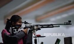 Vidya Peringkat 35, Gagal Berkesempatan Raih Medali Menembak