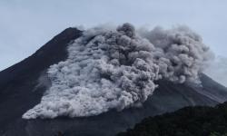 12.000 Masker di Kirim ke Wilayah Hujan Abu Gunung Merapi