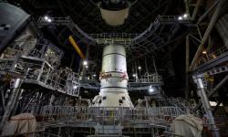 NASARilis Gambar Roket untuk Misi ke Bulan