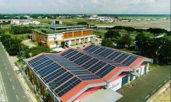 720 Panel Surya Hiasi Atap Bandara Soetta per 1 Oktober