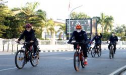 <em>Bike To Work</em>, Kiat Bank Kalsel Budayakan Gemar Berolahraga