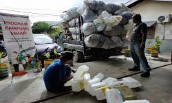 Bank Sampah Cesari Panen 630 Kilogram  Sampah