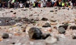 Polisi Malaka Amankan 13 Orang Pendukung Paslon Tawuran