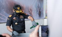 Bea Cukai Malang Musnahkan Hasil Penindakan Senilai Rp 6 M