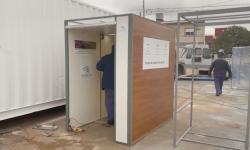 Bilik Sanitasi Ini Diklaim Mampu Bunuh 99 Persen Virus