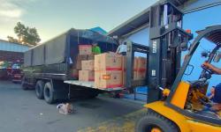 BNPB akan mengirimkan 350 ribu masker pada tempat-tempat penyelenggaraan di wilayah Kabupaten Mimika. Pengiriman akan dilakukan pada Ahad (26/9).