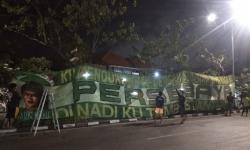 Ribuan Bonekmania Rayakan HUT Ke-94 Persebaya di Jalanan