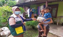 ,BSI dan Rumah Zakat Berikan PMT ke Masyarakat