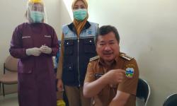 Vaksinasi Kepada Pelayan Publik di Garut Mulai Dilakukan