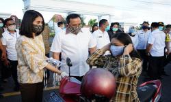 Sepi Orderan, Penjahit Tertolong Program Gerakan Masker Muba