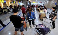 In Picture: Jumlah Penumpang Bandara Ngurah Rai Bali Melonjak