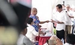 Usai Pencoblosan Jokowi Mengaku Lega