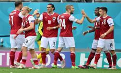 Babak Pertama, Austria Unggul 1-0 atas Ukraina