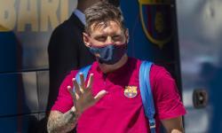 Messi Sumbang 50 Ribu Vaksin Covid-19 untuk Pesepak Bola