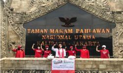 Pertiwi dan Anak Bangsa Bagi Sembako di Hari Lahir Pancasila