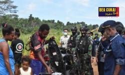 Bea Cukai Gelar Patroli Gabungan di Perbatasan RI-Papua