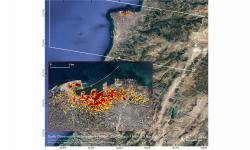 Dampak Ledakan Beirut Jika Dilihat dari Satelit