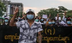 15 Ribu Warga Myanmar Cari Perlindungan ke India