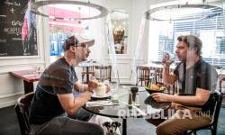 In Picture:  Inovasi Alat untuk Cegah Penyebaran Corona di Restoran