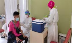 Realisasi Vaksinasi Dosis Satu di Kota Tangerang 70 Persen
