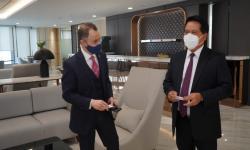 BSI Jajaki Kerja Sama dengan Dubai Islamic Bank