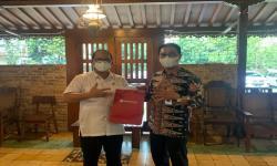 Dorong Perpindahan RKUD, Dirut Bank Banten Temui Ketua DPRD