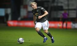 Donny van de Beek gagal memperkuat Belanda di Euro 2020.