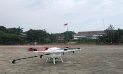 Drone UMM Bantu Semprot Disinfektan di Pasuruan