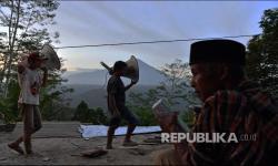 In Picture: Persiapan Tarawih Pertama Ramadhan 1442 H di Lokasi Bencana