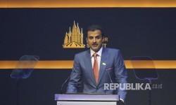 Emir Qatar Soroti Kegagapan Dunia Hadapi Israel