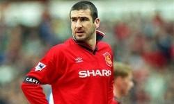 Eric Cantona saat masih berkostum Manchester United.