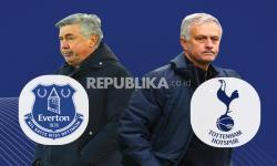 Infografis Everton Vs Tottenham: Perang 4 Besar