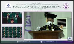 FKH IPB Lantik Dokter Hewan Baru, 22 di Antaranya WNA
