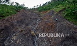 Tiga Rumah di Indramayu Rusak Berat Akibat Tanah Ambles