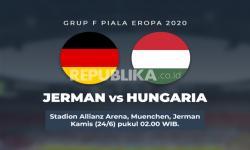 Grup F UERO 2020: Jerman vs Hungaria