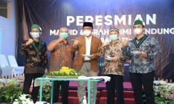 Ridwan Kamil Resmikan Masjid dan Graha HMI
